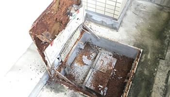 避難器具改修工事 施工前