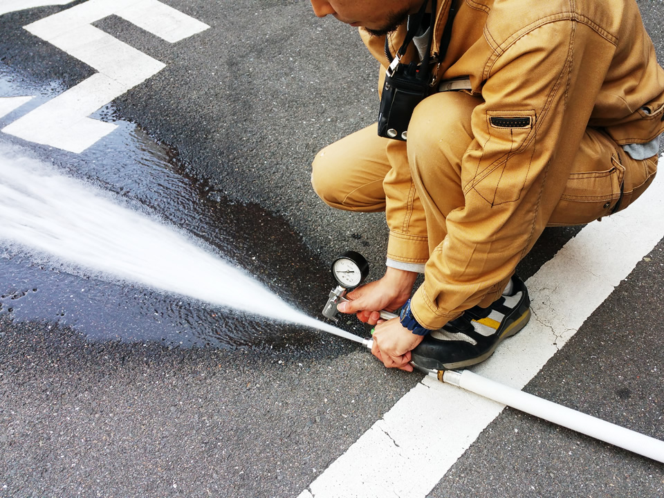 消火器点検